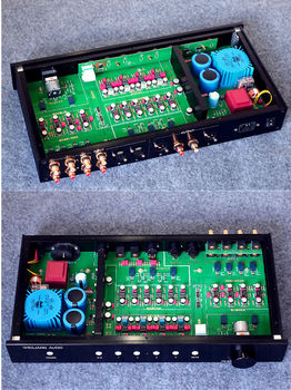 Fully Balanced / Single-Ended Preamp Audio XLR/RCA Preamplifier MBL6010 Circuit