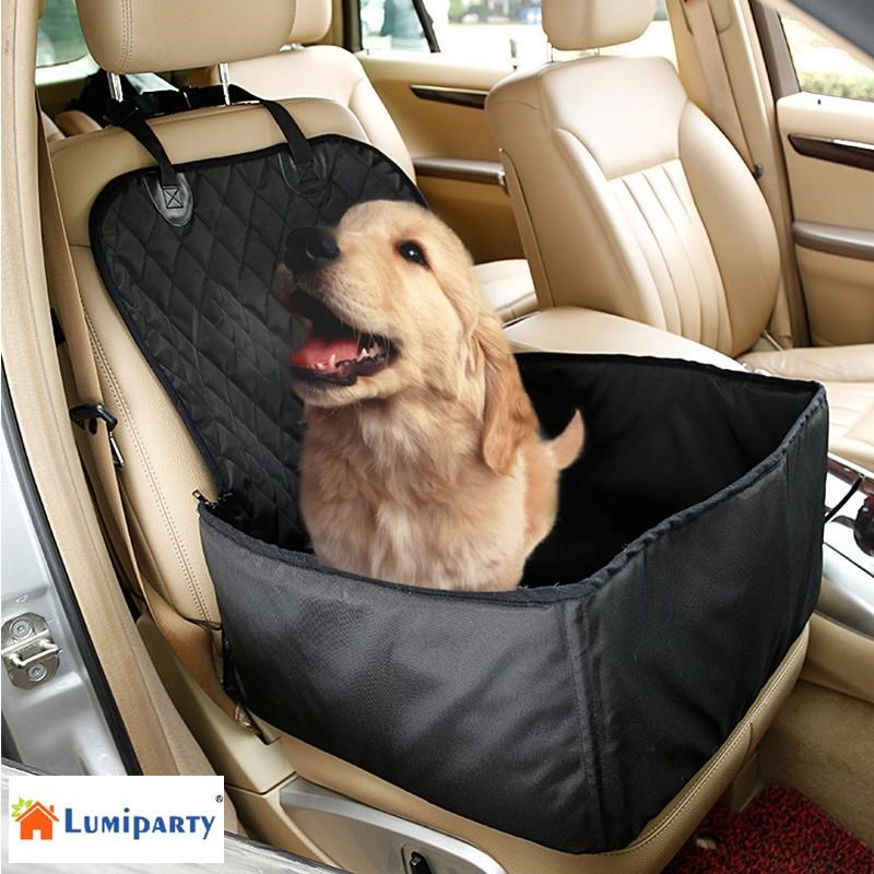 Lumiparty Car Rear Back Seat Cover Blanket For Pet Dog S