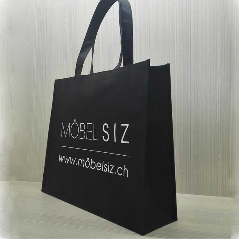 21a5fd57ab Wholesale 500pcs lot promotional eco reusable non woven shopping bag custom  bags with logo grocery