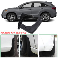 4pcs Premium Heavy Duty Molded Splash Mud Flaps Guards Fenders For Acura RDX 2013 2015