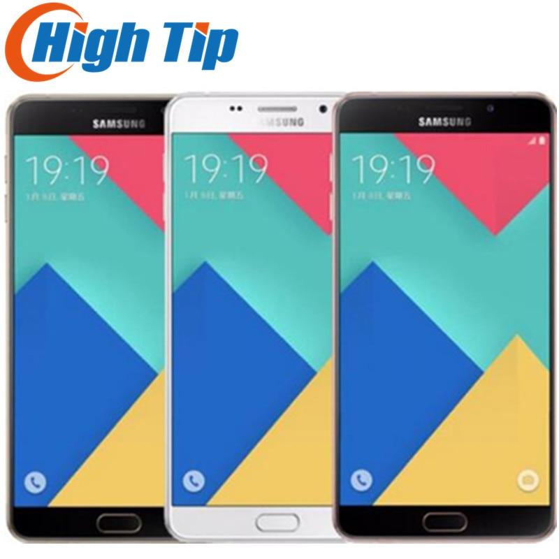 Téléphone portable Original débloqué Samsung Galaxy A9 A9000 double SIM octa-core LTE 6.0 ''13MP ROM 32G 1080 P téléphone portable remis à neuf