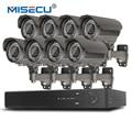 MISECU H.265/H.264 48 В 8*4.0 МП 2.8-12 мм Зум Hi3516D OV4689 8-канальный IEE802.3af 4.0MP 4 К POE P2P HDMI Металл Ночного Видения Системы ВИДЕОНАБЛЮДЕНИЯ
