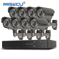Misecu h.265/h.264 48 v 8*4.0 mp 2.8-12mm zoom hi3516d ov4689 8ch iee802.3af 4.0mp 4 k poe p2p hdmi metal night vision cctv sistema
