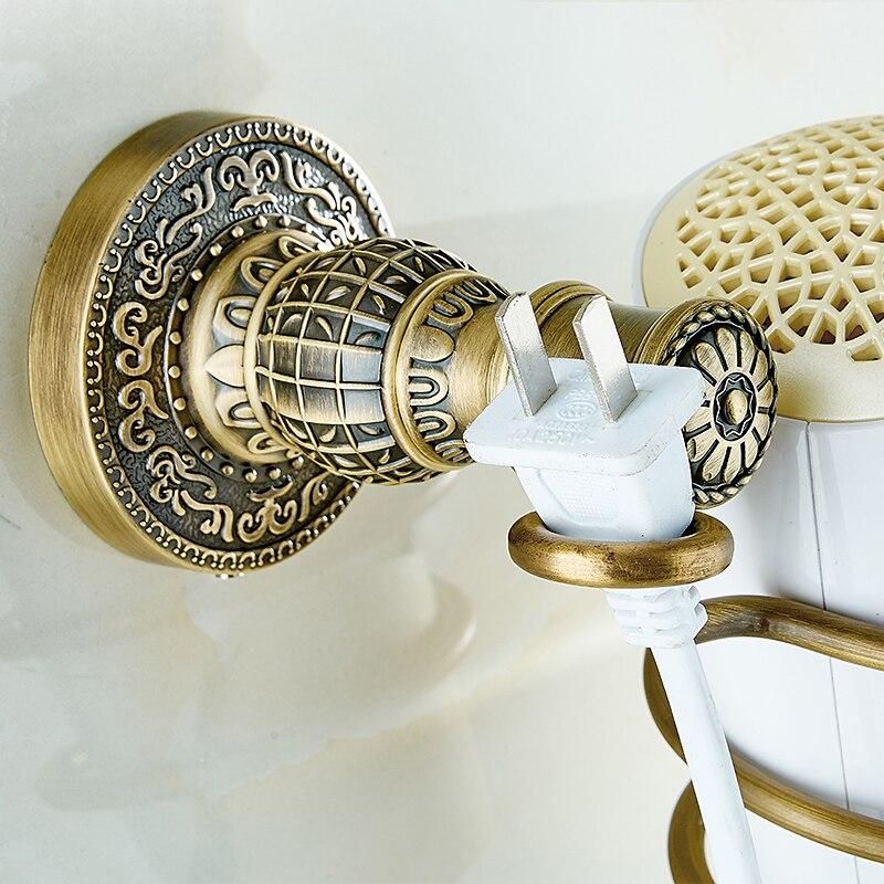 Ванная комната полки барабан стойку с держателем фен стойки домохозяйства стойки волос феном полка Аксессуары для ванной комнаты sl-7811