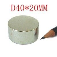 40 * 20 n50 5 pcs n38 ndfeb d40x20mm forte lodestone à aimant supraconducteur permanents néodyme D40 * 20 mm D 40 mm x 20 mm aimants