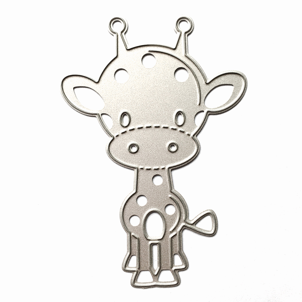 Cute Cow Cutting Dies Stencils for DIY Scrapbooking Decorative Photo Album Embossing DIY Paper Cards Metal Crafts