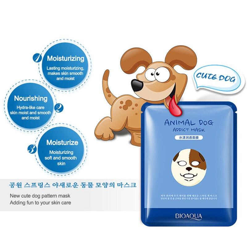 Treatments & Masks Humorous 1 Pcs Tiger Panda Sheep Dog Face Mask Deep Moisturizing Sheet Mask Oil Control Hydrating Face Skin Mask Woman Korean Facial Mask