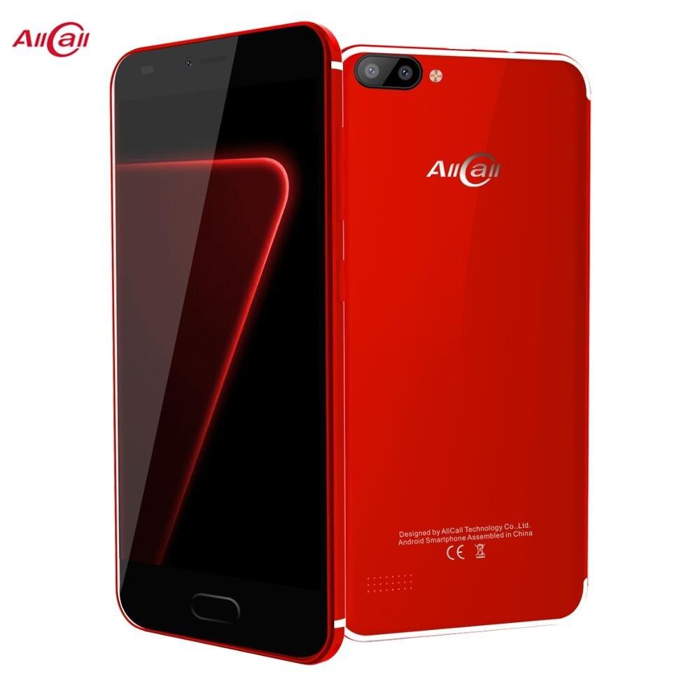 "AllCall Alpha 5,0 ""MTK6580 1,3 GHz Quad Core Android 7,0 1GB de RAM 8GB ROM 8MP + 2MP 2300mAh 3G Smartphone"