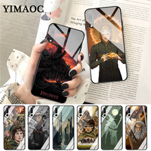 YIMAOC the lord of rings Pattern Glass Case for Huawei P10 lite P20 Pro P30 P Smart honor 7A 8X 9 10 Y6 Mate 20