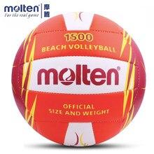 Officail – balle de Volley-Ball de plage en cuir PU, taille 5 Molten V5M, Original, doux au toucher, 1500