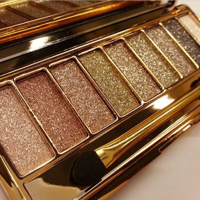 9 цветов макияж тени для век naked дымчатый палитра составляют набор теней для век maquillage профессиональная косметика с кистью ee5