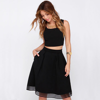 Fashion Clothing Women S European Style Famouse Brand Designer Flare Pleated Spring Latest Vintage A Line