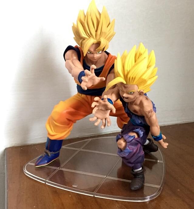 Banpresto Dragon Ball Son Gokou PVC Action Figures DRAMATIC SHOWCASE Dragon Ball Z Gokou Model Toy Doll Figuras DBZ Son Goku