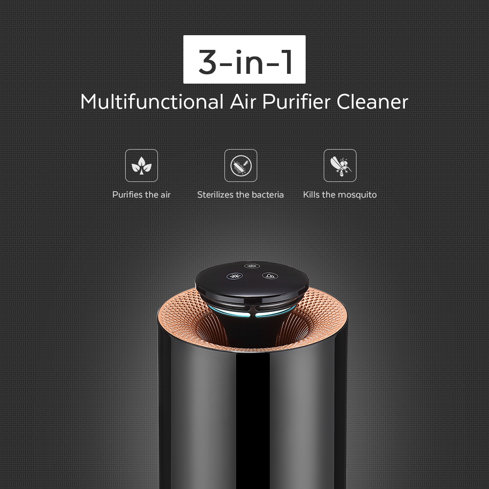 Multifunctional Electric Air Purifier Bacteria Sterilizer Mosquito Killer with Activated Carbon