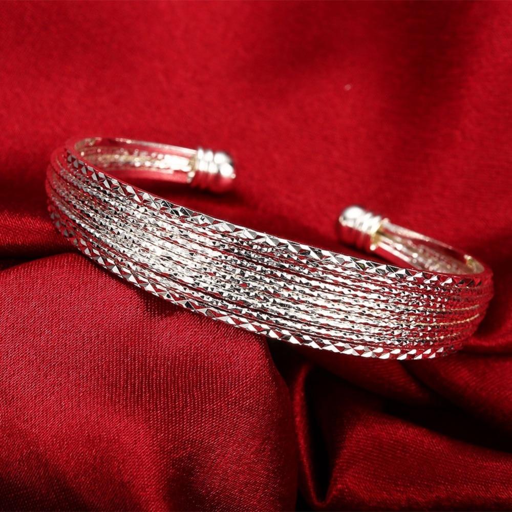 Բնօրինակ 925 արծաթե ձեռնաշղթաներ - Նուրբ զարդեր - Լուսանկար 4