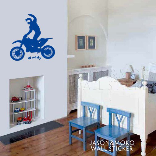 Motocross Rider Personalized Custom Names Wall Decal Stickers For Living  Room Murals Wallpaper For Bedroom Home Decor 58 60CM. High Quality Motocross Wall Decor Promotion Shop for High Quality