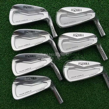 New Golf Clubs HONMA TW727V Golf Irons set 4-10 Irons Clubs and N.S.PRO 950 Steel Golf shaft grips Free shipping golf clubs honma bp 2001 golf putter 33 34 35 inches steel golf shaft and golf headcover free shipping