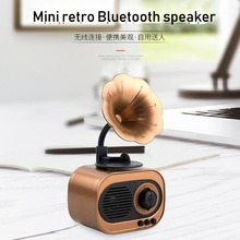 Portable Bluetooth speaker retro speaker model outdoor multi-functional stereo Bluetooth speaker home card Bluetooth speaker цена и фото