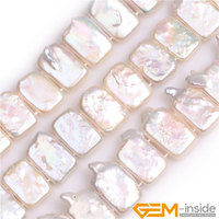 12x16mm Top Drilled Rectangle Nuclear Edison Pearls Beads Natural Pearls Beads DIY Beads For Jewelry Making