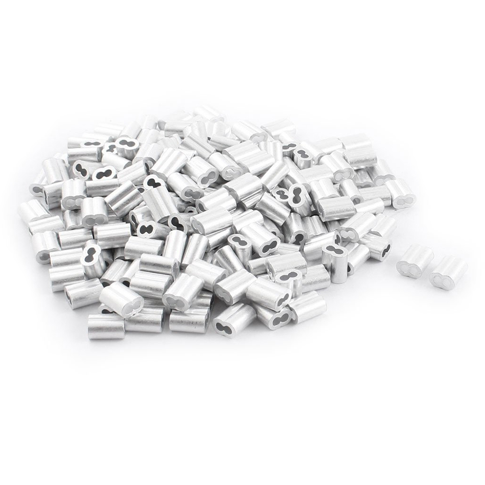200 pieces aluminum hourglass sleeve 3mm x 9mm for 2mm wire rope in Aluminum Floor Scrapers 200 pieces aluminum hourglass sleeve 3mm x 9mm for 2mm wire rope in nuts from home improvement on aliexpress alibaba group