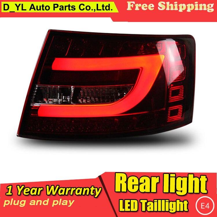 Car Styling Tail Lamp for Audi A6L LED Tail Light 2005 2008 A6L New Altis LED