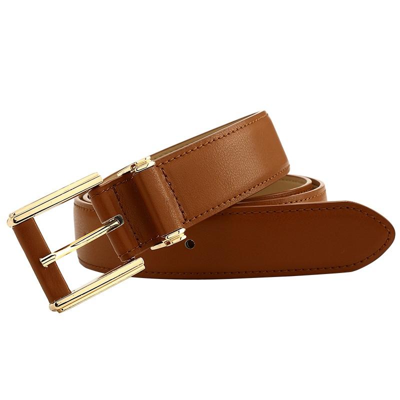 CASTELLES Formal Belts For Women 6 colors Designer Fashion Female Belt Woman High Quality Genuine Leather Cinturones Mujer (3)