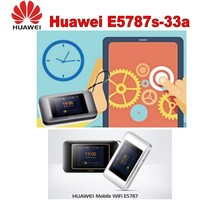 Huawei 300mbps 4g lte router Cat6 WiFi Router with SIM card slot E5787 hotspot