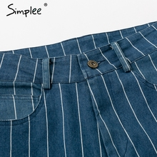 Simplee Sexy StripeBlue Jeans