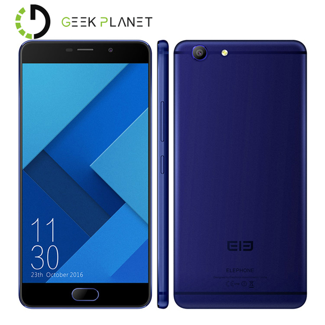 Original Elephone R9 (4G+64G) Helio X20 MTK6797 2.0GHz Deca Core 5.5 Inch 2.5D FHD Screen Android 6.0 4G LTE Smartphone
