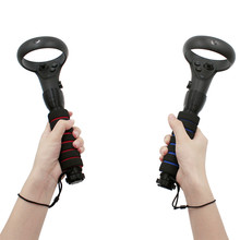 Dual Handles Stand Gamepad for Oculus Quest/Rift S Touch Controllers Playing Beat Saber Game
