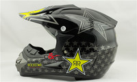 free shipping rockstar casco capacetes motorcycle helmet motocross racing helmets dirt bike atv bicycle helmet DOT S ~ XL size