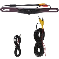 Car Auto 120 Degree Wide View Angle License Plate Rear View HD IR Backup Camera 0226