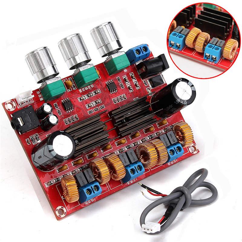 TPA3116D2 50Wx2 + 100 W 2.1 Canal Numérique Subwoofer Amplificateur de Puissance Conseil 12 ~ 24 V Amplificateur Conseils Modules