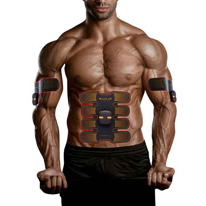 New Intelligent control Abdominal sticker Muscle massage Body Slimming Beauty Machine EMS Abdominal Muscle Exerciser massageador herbal muscle