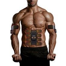 New Intelligent control Abdominal sticker Muscle massage Body Slimming Beauty Machine EMS Exerciser massageador