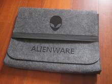 W408 Envelope Sleeve Wool Felt Case Laptop Briefcase Cases Bags for Alienware 18 / 17 / 15 / 14 / 13 inch Protective