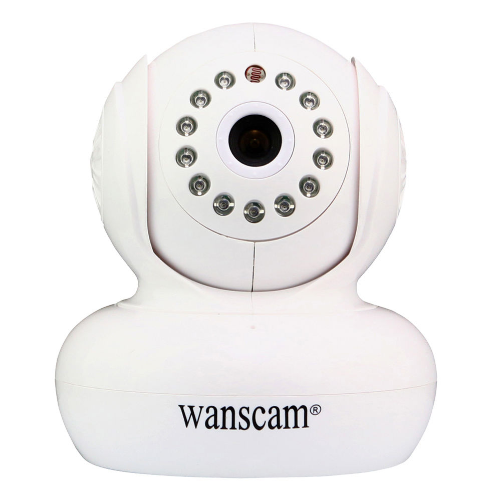 Wanscam HW0021 HD 720P Wireless WiFi IP Camera Baby Monitor IR Night Vision Built in Mic Pan Tilt For Android wanscam hw0021 hd 720p wireless wifi ip camera baby monitor ir night vision built in mic pan tilt for android