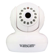 Wanscam HW0021 HD 720P Wireless WiFi IP Camera Baby Monitor IR Night Vision Built in Mic Pan Tilt For Android