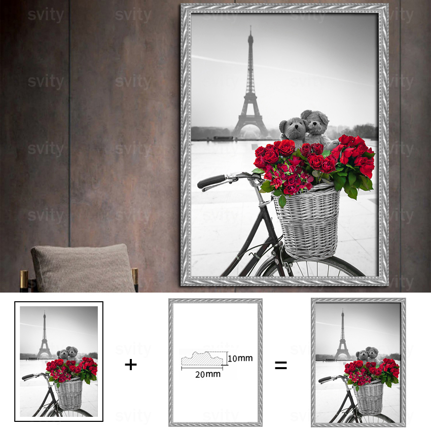 Nordic style flower girl beautiful modern painting posters and prints for fashionable girl room hd decorative wall art TZ052 in Painting Calligraphy from Home Garden