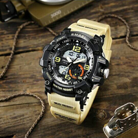 SMAEL Brand Watch Military Watch Digital G Style S Shock Men's Wristwatch Sport LED Watch Dive Wateproof Fitness Sport Watches