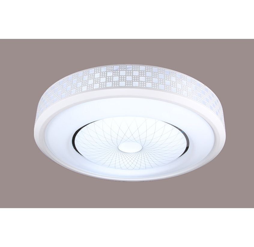 home lighting Round LED Creative LED ceiling lamps the living room simple bedroom lamp remote control Ceiling Lights nine ZAFG69