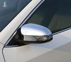 2 sztuk dla Corolla 2014-2017 lusterko wsteczne kaptur naklejki lusterko wsteczne cekiny Pokrywa ochronna pokrywa z włókna węglowego