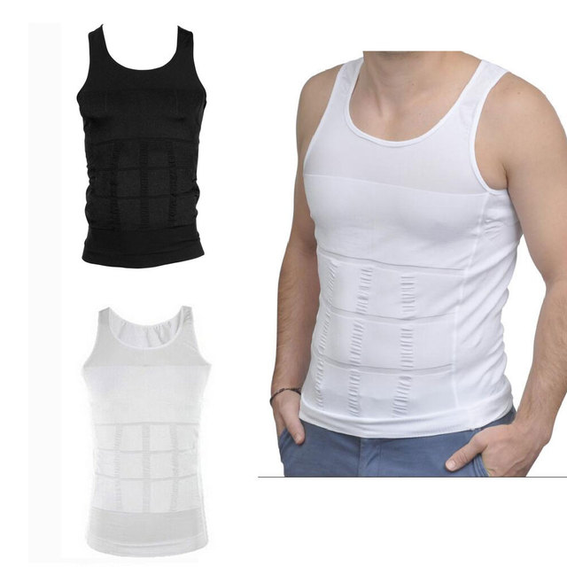 d08c551b9318a Slimming Shaper Vest Men Slimming Belt Body Shaper Gym Corset Tummy Waist  Trainer Training Corsets Sport Vest
