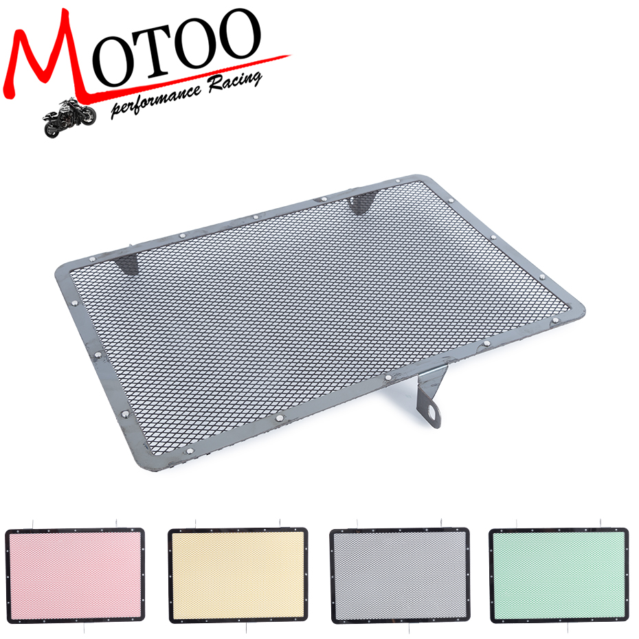 купить Free Shipping New Motorcycle Radiator Grille Guard Cover Protector For Kawasaki Z750 Z800 ZR800 Z1000 Z1000SX 13-17 2015 2016 по цене 1296.17 рублей