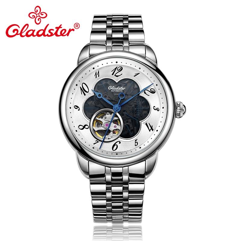 Gladster Luxury Brand Japan MIYOTA 8N24 Men Watch Mechanical Automatic Gentlemen Watch Golden Waterproof Sapphire Male Clocks italians gentlemen пиджак