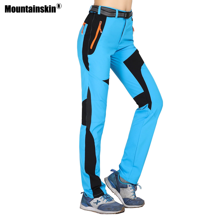 Mountainskin Summer Women's Quick Dry Breathable Pants Outdoor Trekking Hiking Hunting Fishing Camping Trousers Sweatpants VB053