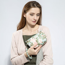 New Vintage Floral Printed Women Cosmetic Bag