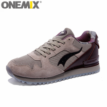ONEMIX Mens Running Shoes Comfortable Outdoor Walking Shoes For Women Retro Shoes
