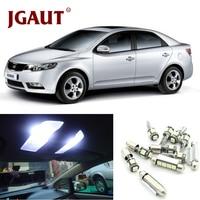 JGAUT White Car Lamp LED Light Bulbs Interior Package Kit For 2010 2011 2012 Kia Soul