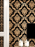 beibehang of wall paper wall paper Damask Wallpaper Classic PVC Wall Paper Roll papel de parede for Living Room Bedroom
